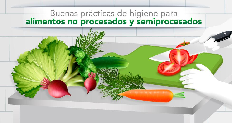 Guía - Buenas prácticas de higiene para alimentos no procesados y semiprocesados